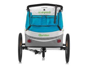 Kidgoo2 Kindersportwagen Rückansicht Transporttaschen Stauraum