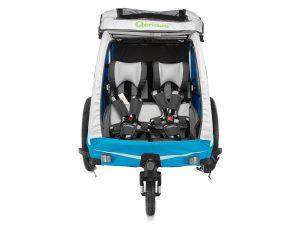 Kidgoo1 Kindersportwagen Vorderansicht Verdeck geöffnet