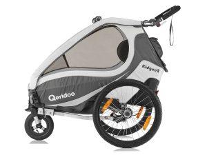 Kidgoo2 Kindersportwagen Seitenansicht anthrazitgrau