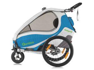 Kidgoo2 Kindersportwagen Seitenansicht blau