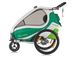 Kidgoo2 Kindersportwagen Seitenansicht grün