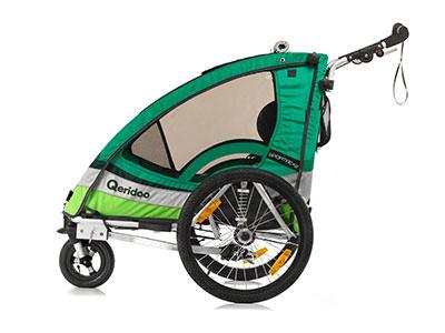Kindersportwagen Kinderfahrradanhänger Sportrex2