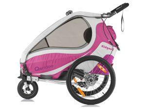 Kidgoo2 Sport Kindersportwagen Seitenansicht pink violett