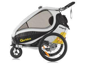 Kidgoo2 Sport Kindersportwagen Seitenansicht gelb