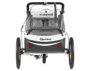 Kidgoo2 Sport Kindersportwagen Rückansicht Transporttaschen Stauraum